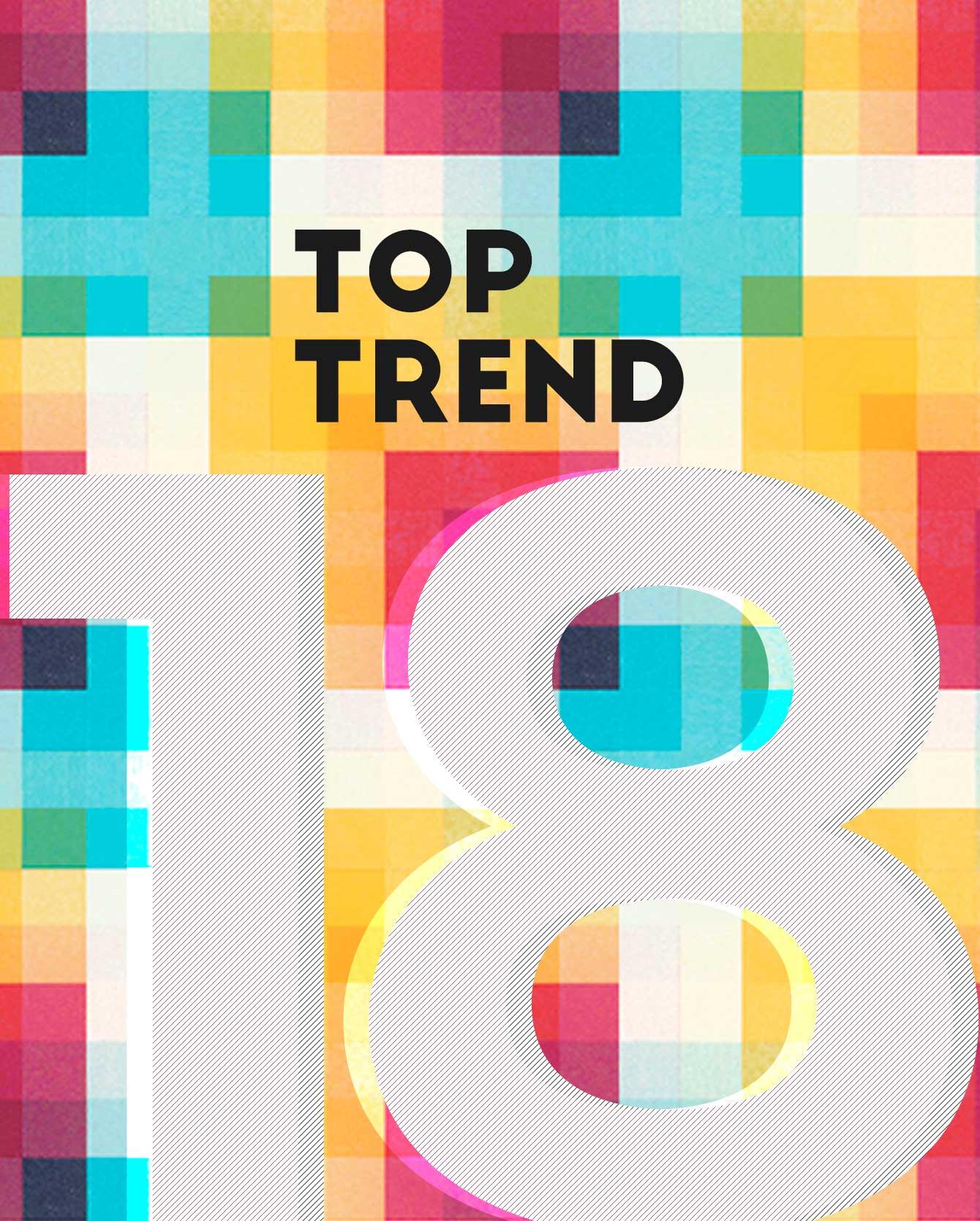 Top trend graphic design 2018