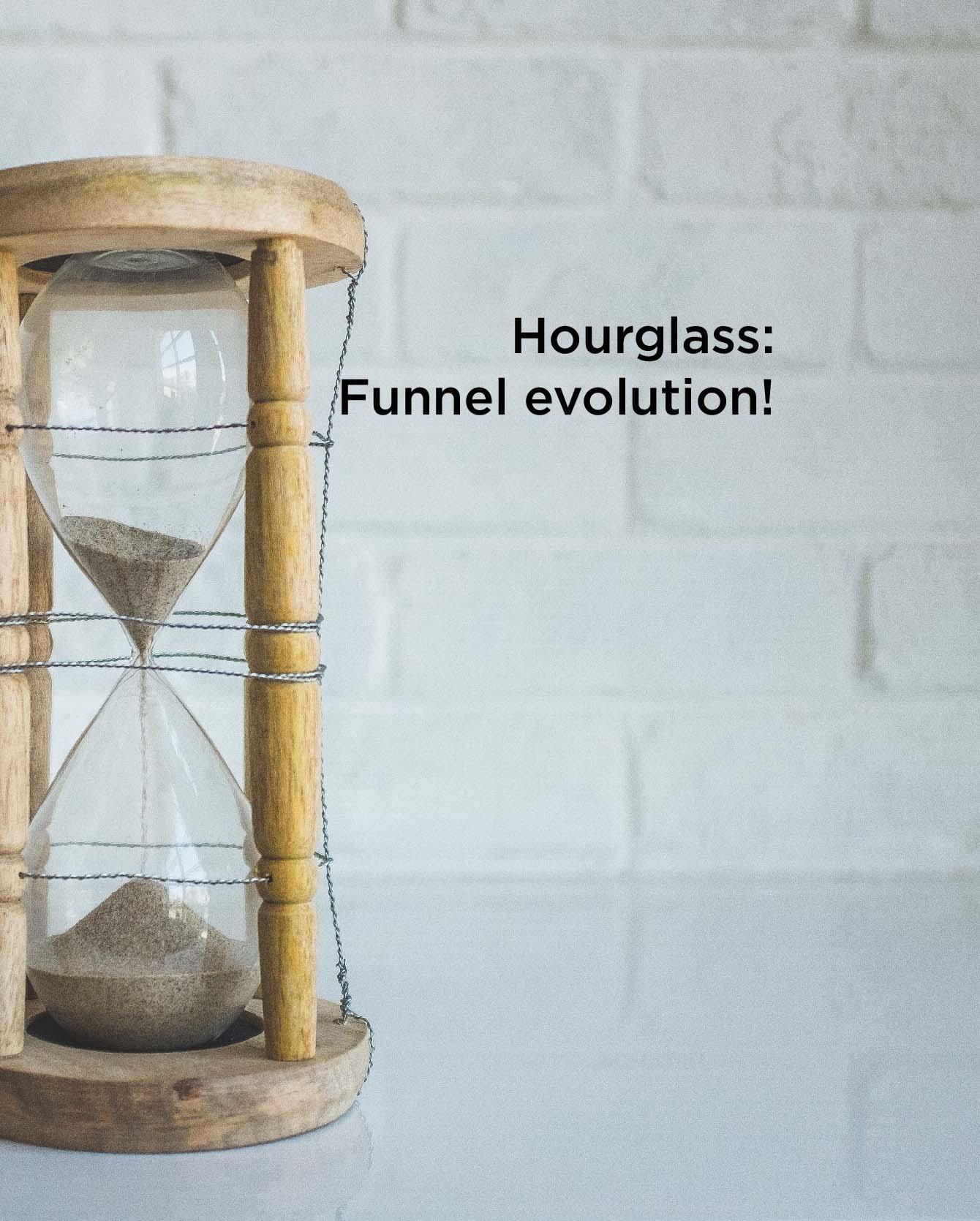 Hourglass: l'evoluzione del Funnel di vendita