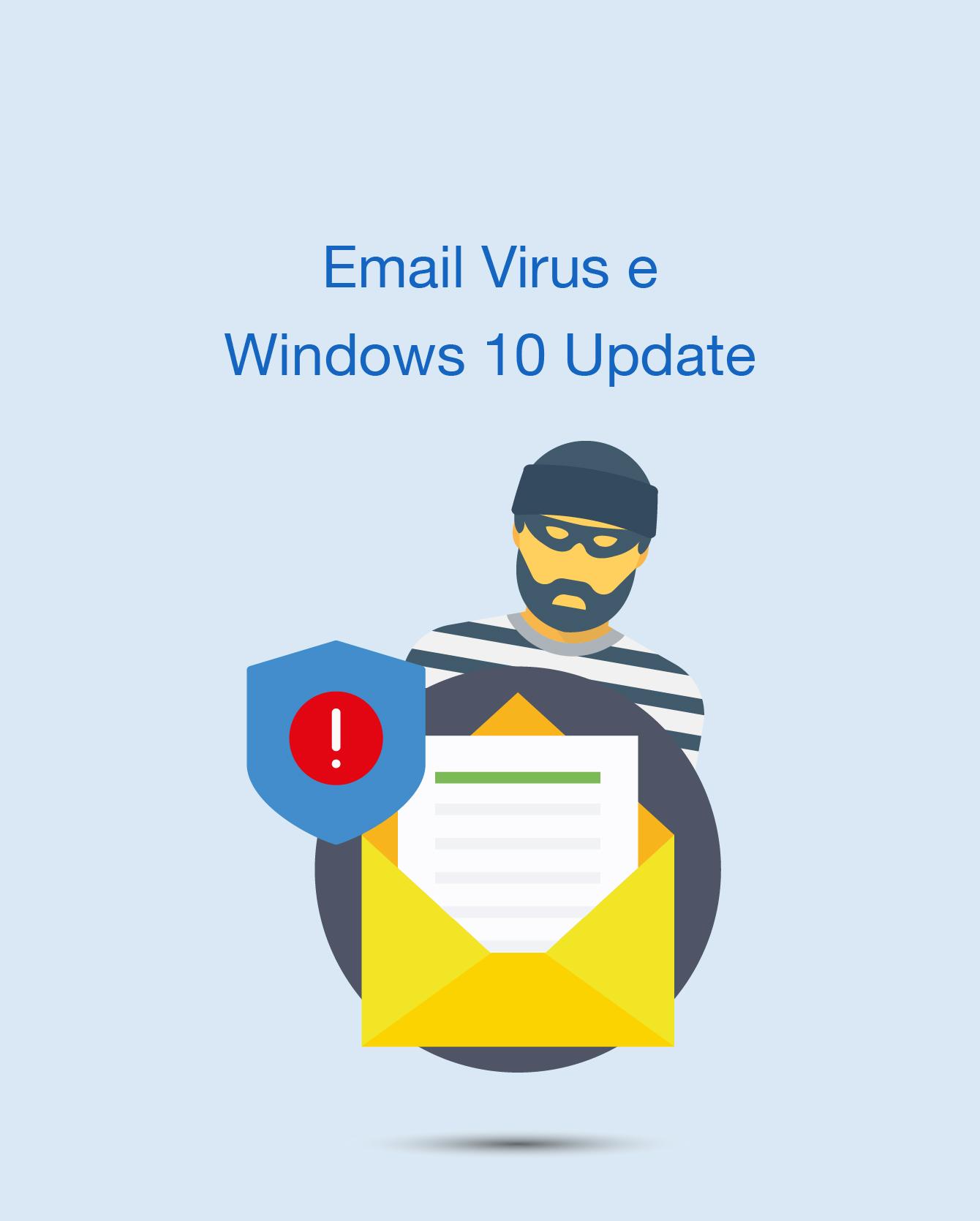 Virus mail e problemi con gli aggiornamenti Windows 10