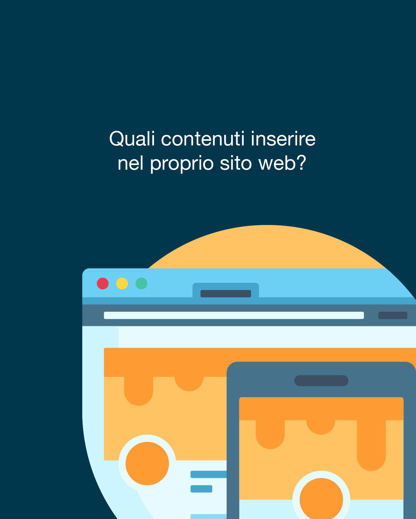 UX/UI: quali contenuti inserire nel tuo sito web