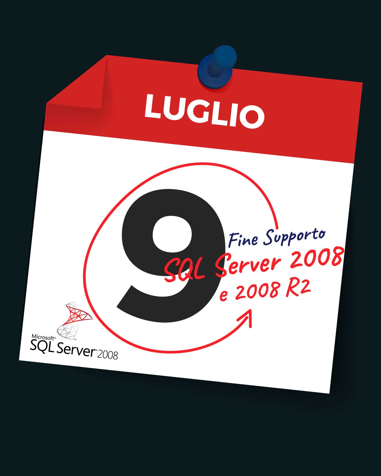 Scadenza del supporto per SQL Server 2008 e 2008 R2: keep IT safe