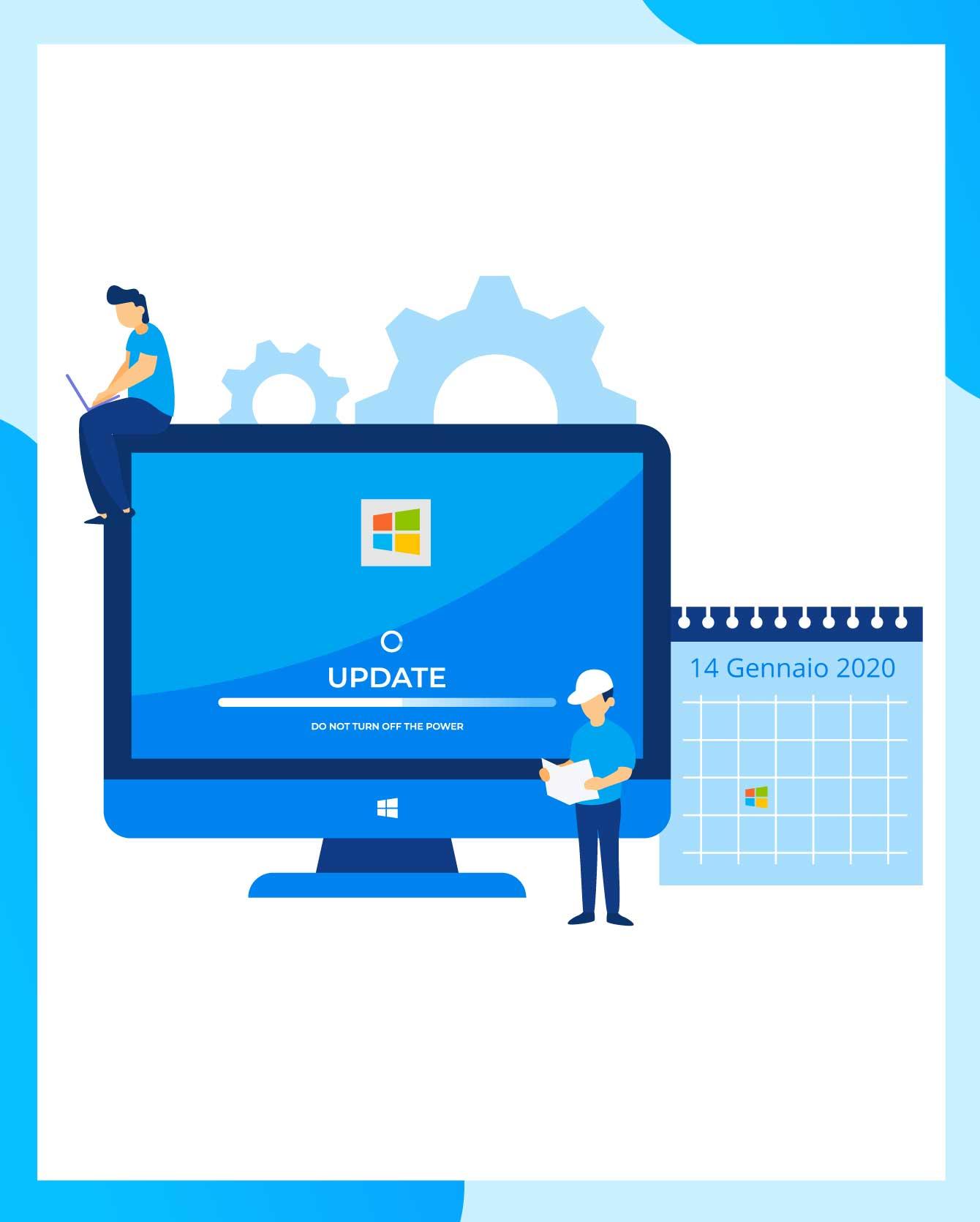 Scadenza del supporto per Windows 7: che motivo hai di rischiare?